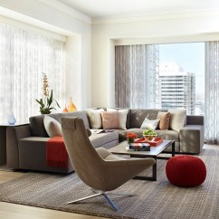 Living Room Designs With Grey Sofas Blue Orange 55 Incredible Masculine Design Ideas Inspirations Exquisite A Dash Of Red Jessica Lagrange