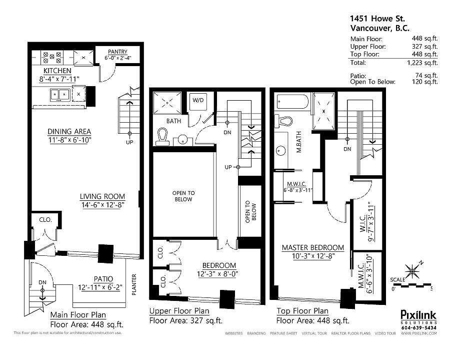 3 Bedroom Townhomes For Rent