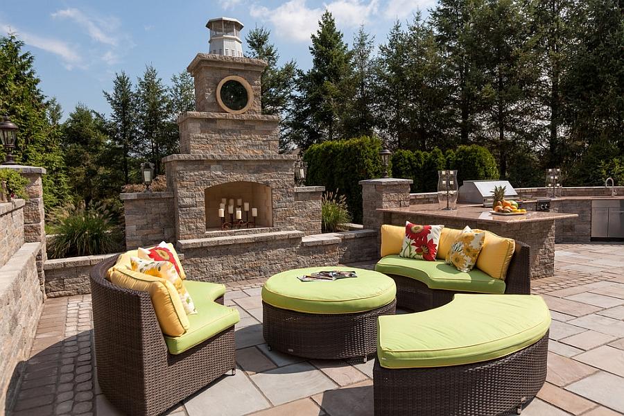 Kim Granatell S New Jersey Home Gets A Trendy New Backyard
