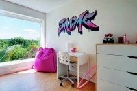 Graffiti Interiors, Home Art, Murals And Decor Ideas