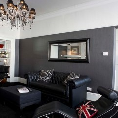Living Room Ideas Grey And Black Sofa Decor Uk 55 Incredible Masculine Design Inspirations Lc4 Eames Lounger In The Hip Boutique Homes