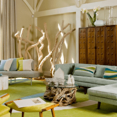 Corner Living Room Furniture Ideas Sofas Zimbabwe Decorating Tips Space Conscious Solutions View In Gallery Sculptural Addition The Adds To Serene Ambiance Of By Amy