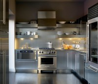 Add Sleek Shine To Your Kitchen With Stainless Steel Shelves