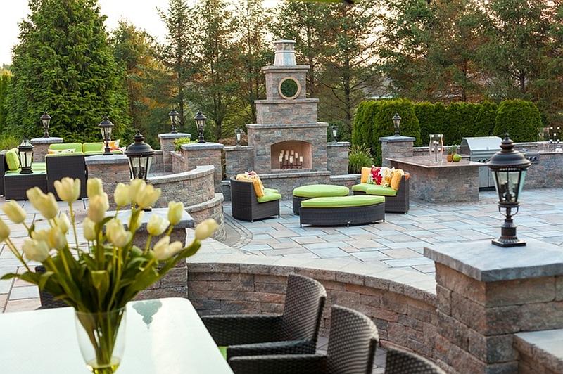 Kim Granatells New Jersey Home Gets A Trendy New Backyard