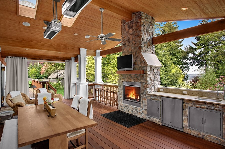 backyard kitchen designs sink vent designing the perfect outdoor design logan s hammer building renovation