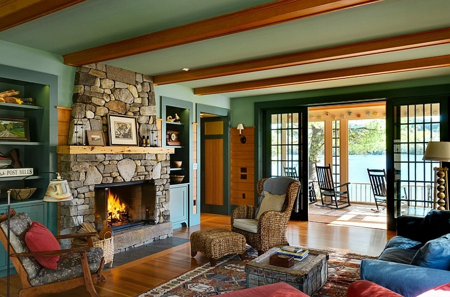rustic paint colors for living rooms baby grand piano in room 30 ideas a cozy organic home breezy summer charm coupled with style the area design smith