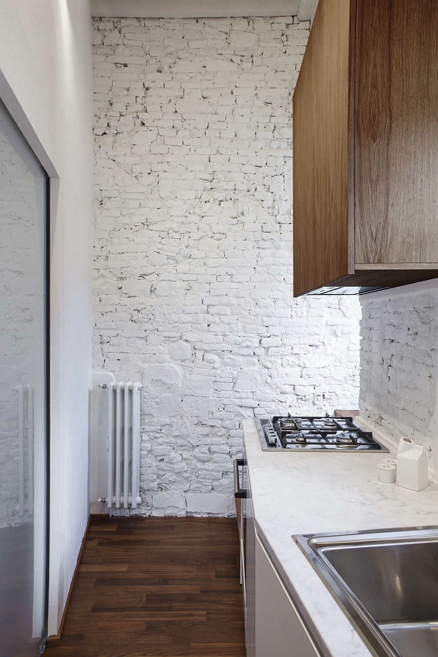 Smart Renovation Of Historic Italian Apartment Contemporary Style