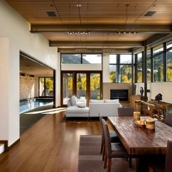 Contemporary Rustic Living Room Decorating With Dark Brown Couches 30 Ideas For A Cozy Organic Home Chic Scenic Views From 186 Lighting Design Group