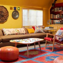 Fun Living Room Ideas Decorating Tips For Small How To Design A Trendy Family View In Gallery Colorful Modern Idea With Midcentury Vibe Photography By Eric Piasecki