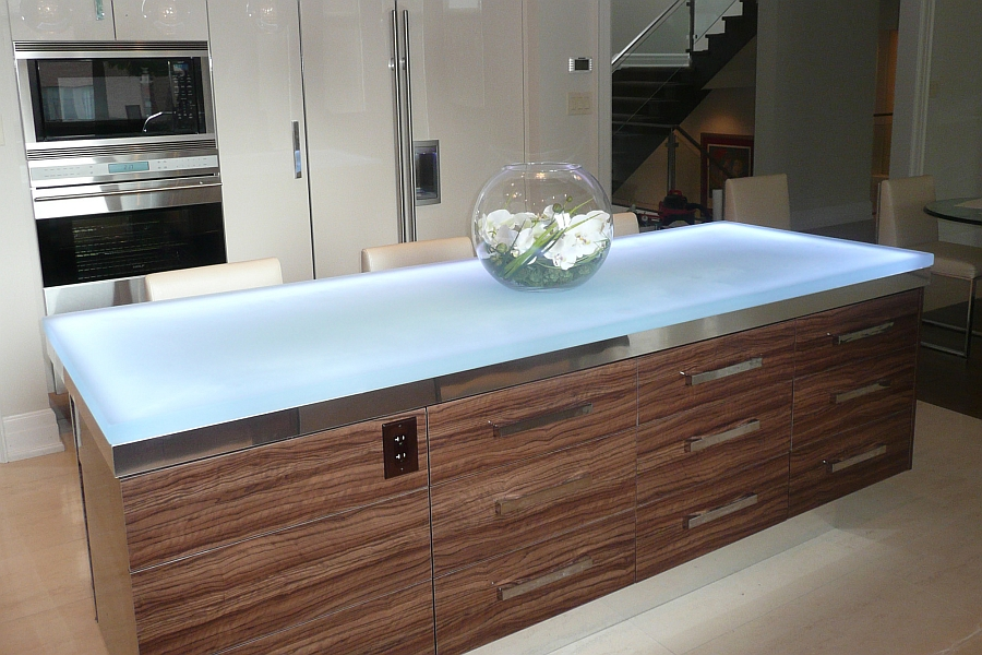 Hot Trends Talking Glass Countertops With Vladimir