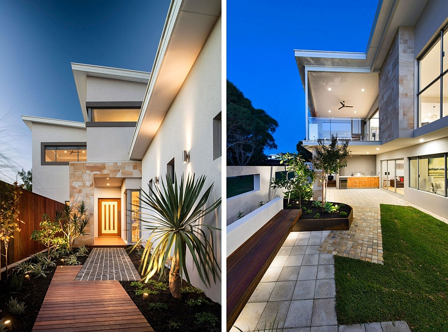 Contemporary Perth Residence With Scenic Ocean Views