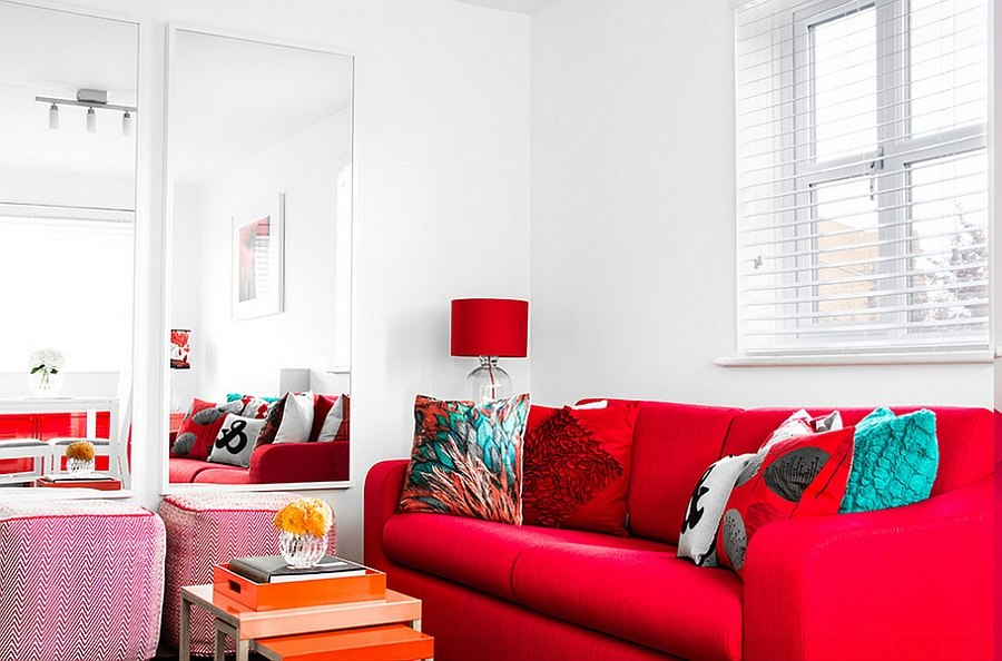 red sofa design living room furniture sets ashley rooms ideas decorations photos it is decor that brings in the here bhavin taylor