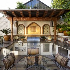 Backyard Kitchen Designs Buy Cabinets Online Designing The Perfect Outdoor Mediterranean Style Space With A Beautiful Design C Partners