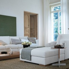 Small Living Room With No Coffee Table White Sofa Designs Trendy Ideas For The Modern Minimalist View In Gallery Tables Add Understated Style To Space