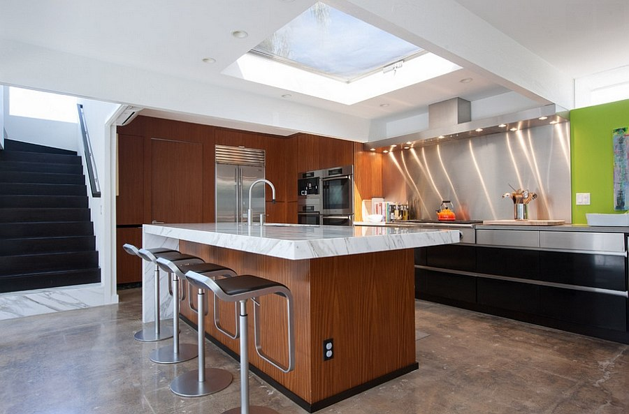 Two Story MidCentury Home Gets Fancy Remodel