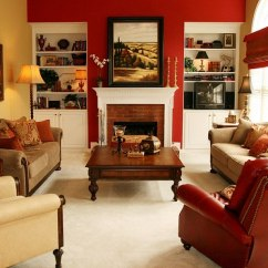 Living Room Decor Red Images Rooms Design Ideas Decorations Photos Accent Wall Brightens The Fabulous Robinson Interiors
