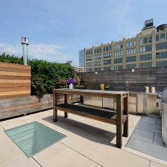 Kitchen Makeover Ideas Outdoor For Small Spaces Posh Penthouse Loft Blends Timeless Nyc Magic With Modern ...