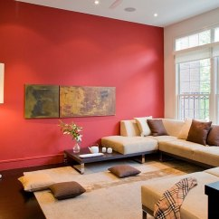 Living Room Decor Red Rooms By Joanna Gaines Design Ideas Decorations Photos Semi Minimal With Bold Splash Of Forma