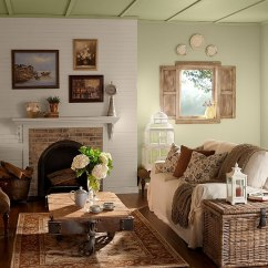 How To Decorate My Living Room Rustic Flooring Ideas 30 For A Cozy Organic Home View In Gallery Varied Textures Give The An Exciting Look Design Behr