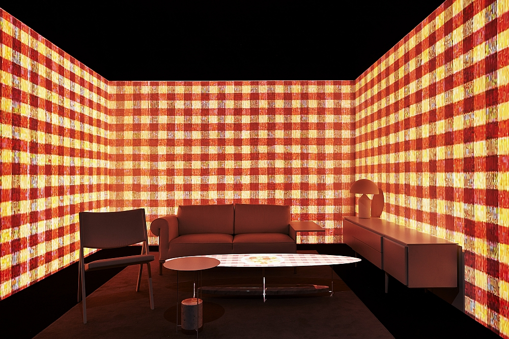 interior design ideas living room tv unit how to choose a rug glass cube: molteni&c and ron gilad redefine showroom design!