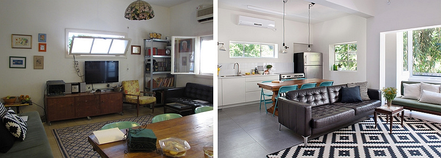 Small Urban Apartment in Tel Aviv Gets a Modern Makeover