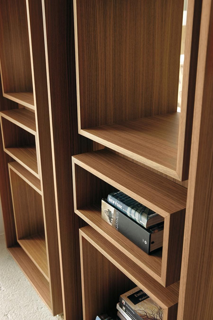 5 Trendy Modern Bookshelves That Unleash Warmth Of Wood