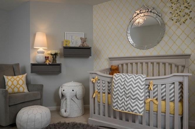 Yellow And Gray Baby Room Ideas Euskal