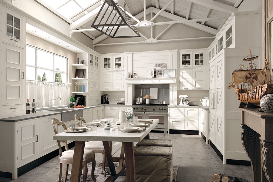 beautiful kitchen islands schrock cabinets modern kitchens with classic designs