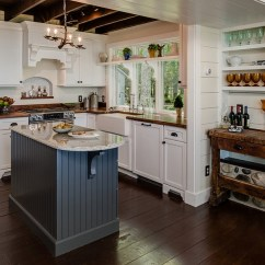 Island Kitchen Ideas Antique Furniture 24 Tiny For The Smart Modern Cottage Style With Trendy Use Of Gray Design Dawn At Lake Street