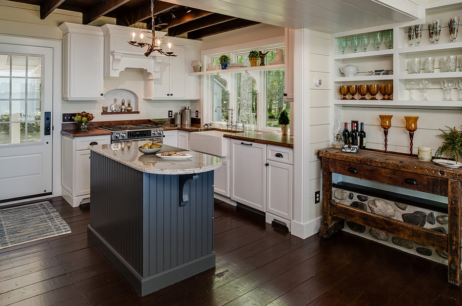 island kitchen ideas spoon 24 tiny for the smart modern cottage style with trendy use of gray design dawn at lake street