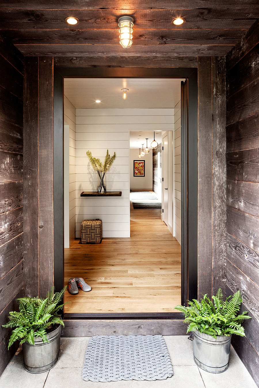 Idyllic Portland Home Blends Industrial and MidCentury Styles