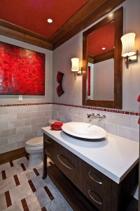 21 Sensational Bathrooms with the Ravishing Flair of Red!