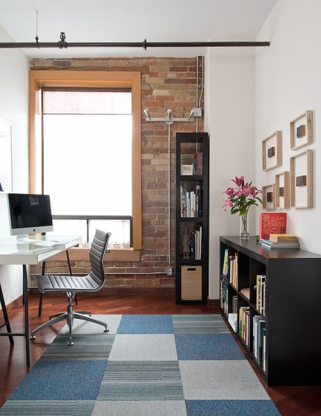 home office design interiors 27 Ingenious Industrial Home Offices with Modern Flair