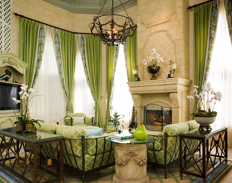 small living room ideas green modern country rooms 25 and to match is a perfect pick for the traditional design susan lachance interior