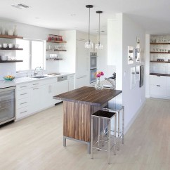Small Island For Kitchen Aid Knives 24 Tiny Ideas The Smart Modern Let Bring Textural Contrast To Space Design Cliff Spencer Furniture