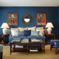 Living room colors inspired by the ocean from annie santulli designs