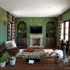 Green Living Room Walls Scandinavian Design 25 Rooms And Ideas To Match Mediterranean Style In Custom Construction