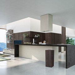Suspended Kitchen Shelves Aid Cooktop Posh Compositions Fuse Modularity With Minimal ...