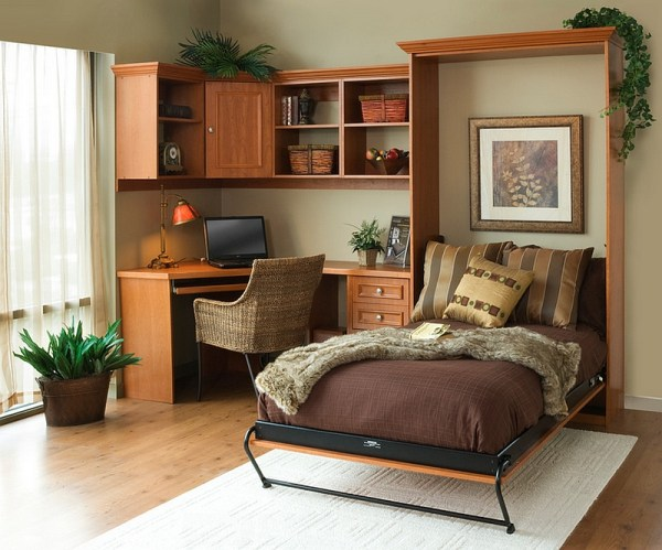 home office guest bedroom design ideas 25 Creative Bedroom Workspaces with Style and Practicality