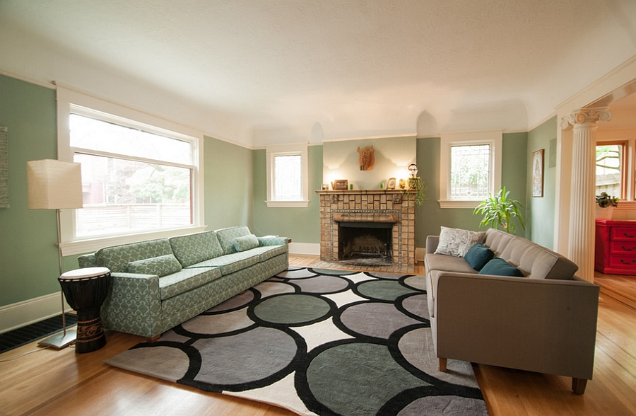 light color living room design shabby chic furniture sale 25 green rooms and ideas to match view in gallery pick a shade of for your walls encircle