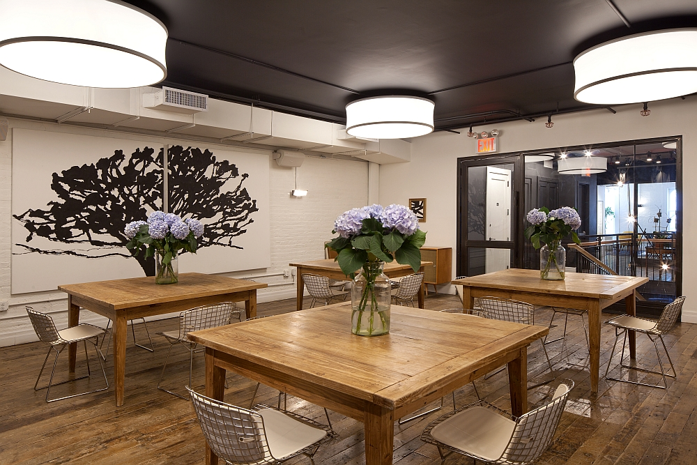 renovated kitchen ideas subway tile backsplash old nyc carriage house into a trendy café