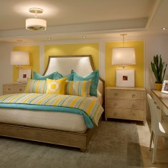 Decorating With Light Yellow Walls Living Room Big Flowers For And Blue Interiors Rooms Bedrooms Kitchens View In Gallery Small Chic Bedroom Turquoise From Laura Miller Interior Design