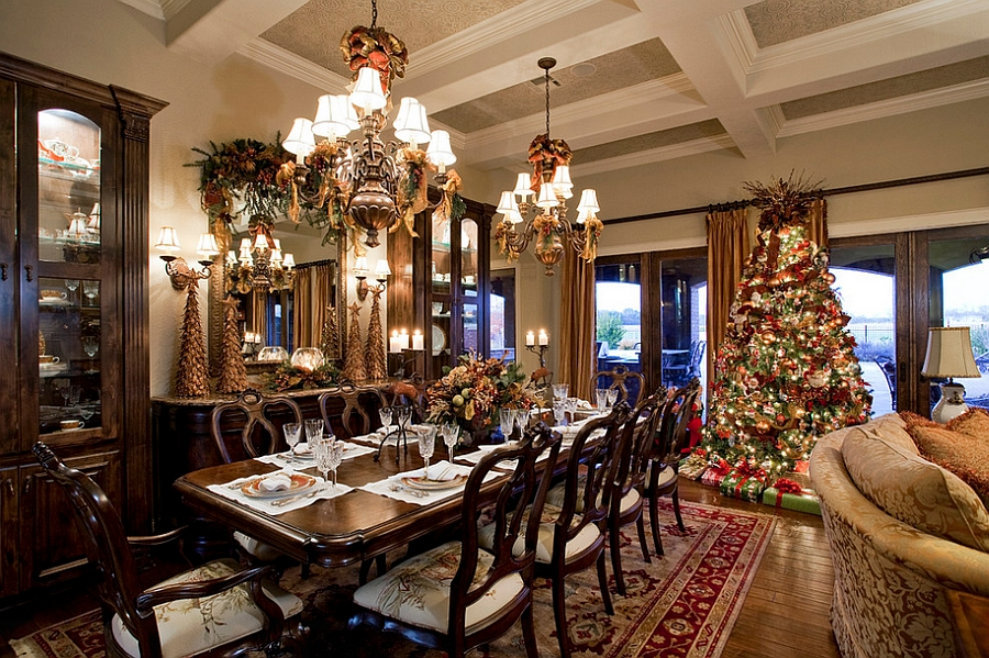 elegant christmas living room decor interior design ideas 2016 21 dining decorating with festive flair view in gallery bring the charm of tree into dawn hearn
