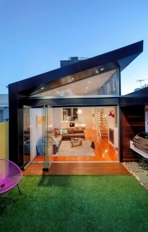 Traditional Victorian Home Transformed With Glassy