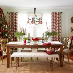 Christmas Decorating Ideas For A Small Living Room Cute Ways To Decorate 21 Dining With Festive Flair