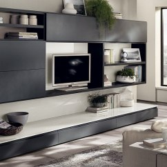 Gray Living Room Sets Home Interior Design Photos 12 Dynamic Compositions With Versatile Wall ...