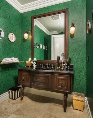 malachite powder bathroom fornasetti gorgeous modern decorating decor rooms designs mediterranean bedroom interior luxury cole stunning fortech solutions exotic valentina
