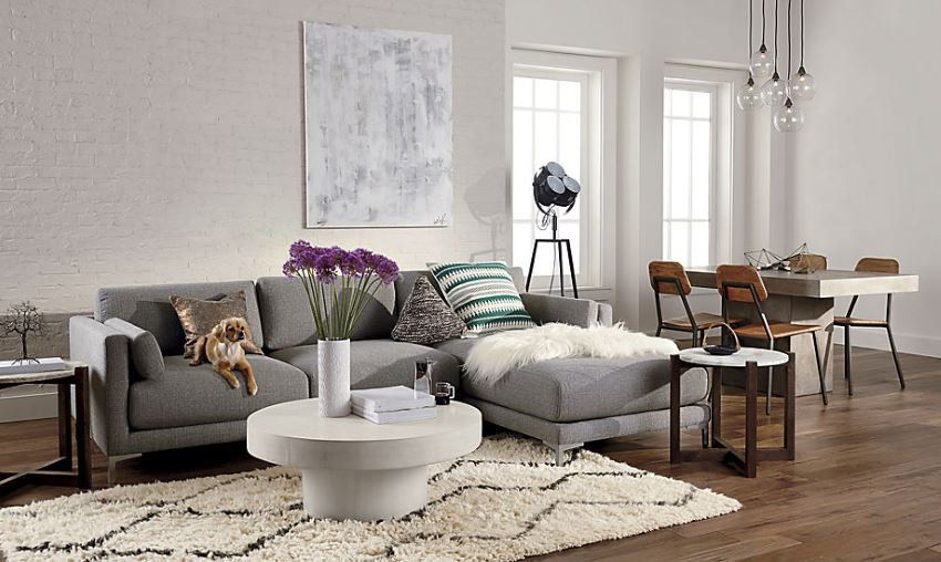 l shaped couch small living room ideas interior designs for rooms photos 10 featuring modern sectional sofas