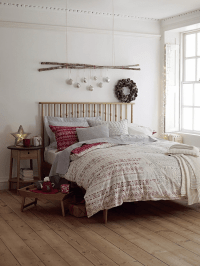 10 Christmas Bedroom Decorating Ideas, Inspirations