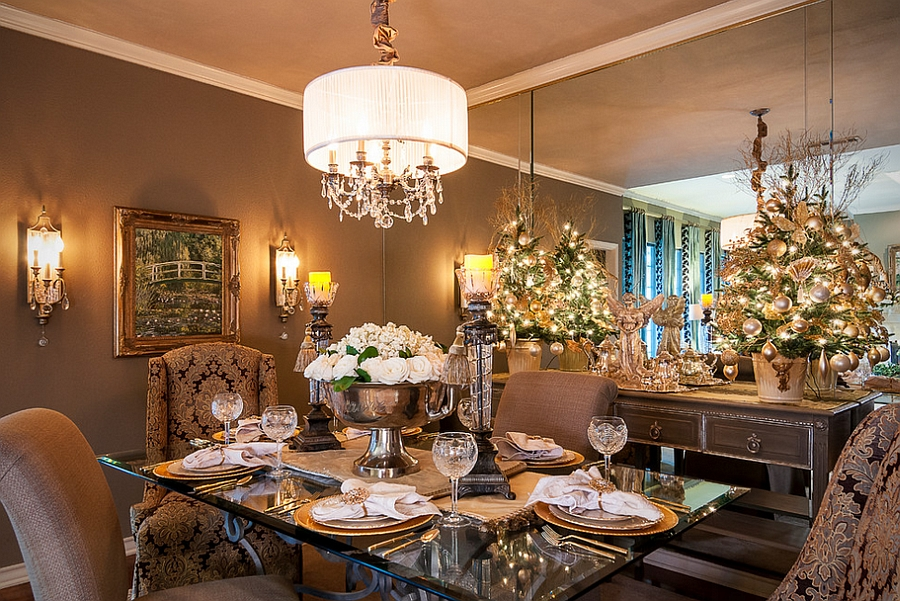 living room table decor pictures of small rooms designs 21 christmas dining decorating ideas with festive flair stunning decked out for design saj